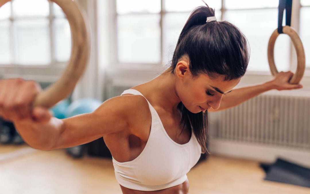 Ćwiczenia na kółkach gimnastycznych
